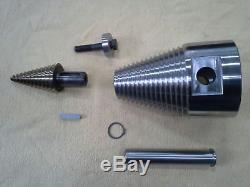120mm Foret Conique Cône Fendeur avec 3t Finn Lightbox CR300 en Lot Complet Neuf