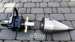 150mm Foret Conique Cône Fendeur avec 3t Finn Lightbox CR300 en Lot Complet Neuf