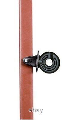 20 Pieux 165 CM Tas D'Angle En + 50 Splintisolatoren Stahlpfahl 3mm Isolateur