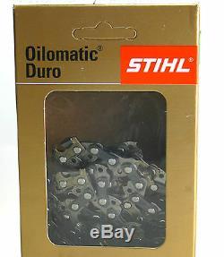 2 X Stihl Chaînes de Scie 3667 000 0074 RD3 45cm. 325 1,6mm 74 TG Dur +