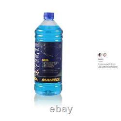 40L mannol Huile de Chaîne Incl. Transfert D'Huile + Liquide Nettoyeur