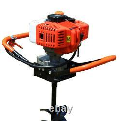 52cc Tarière Thermique essence Earth Auger Machine à essence 4 6 8 Bit
