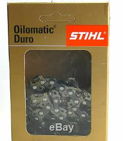 5 X Stihl Chaînes de Scie 3667 000 0074 RD3 45cm 0,325 1,6mm 74 TG Carbure