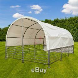 Abri de prairie chevaux bovins mobile 4 x 6 mètres D52056