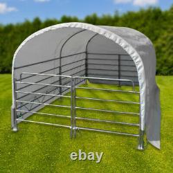 Abri de prairie mobile 2 x 3 m chevaux / bovins D52055