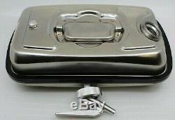 B. 14757 5L Dosierkanister Acier Inox 400x240x190mm Rotatif avec Ventilation Neuf