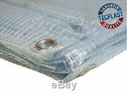 Bache de protection agricole 400 g/m² 2.1 x 3 m bache serre transparente arm