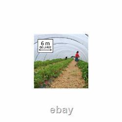 Bâche transparente 6m de large, longueur de 13m (6m x 13m) pour serre de jardin