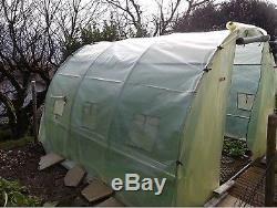 Bâche transparente 6m de large, longueur de 15m (6m x 15m) pour serre de jardin