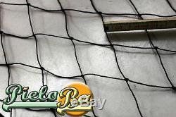 Barrière Volaille Filet 2,50 M X 90 Noir Ouverture de Maille 5 cm pour