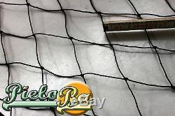Barrière pour Volaille Filet Bétail 100 M X 1,60 Noir Ouverture de Maille 5 CM