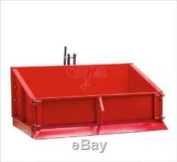 Benne agricole 3 points Basic 150 avec dispositif de bascule sécurisé D52027