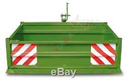 Benne / bennette arrière pour tracteur 1500 S KAT I-KAT II 0,55 m3 D52323