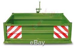 Benne / bennette arrière pour tracteur type 1500S KAT I-KAT II 0,55 m3 D52323