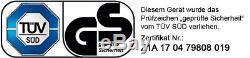 Brast ESSENCE DÉBROUSSAILLEUSE 3 PS coupe-herbe Faux Trimmer 52CM ³ 2 en 1