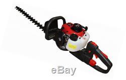 Bricoferr bfp0280 Taille-haies à essence, rouge et noir