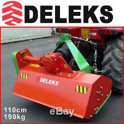 Broyeur 110cm pour vignobles et vergers DELEKS + Cardan Tracteur garantie 2 ans