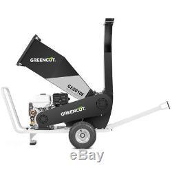 Broyeur a branches broyeur moteur essence 4 fois 15cv 7L- GREENCUT