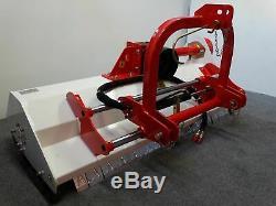 Broyeur à déport hydraulique à herbe GIEMME EH 125 pour tracteur 25-35 cv