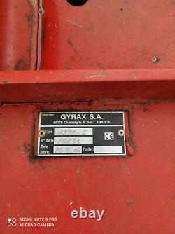 Broyeur à lames Gyrax E 1500