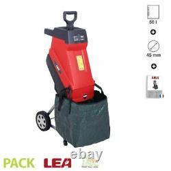 Broyeur de jardin électrique 2500W coupe 45mm ECO LEA LE54250-45N