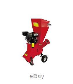 Broyeur de jardin pour végétaux diamètre max 76mm moteur thermique 212cc 5,6 cv