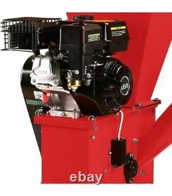 Broyeur de végétaux coupe 89mm moteur thermique 420cc 13 cv LEA LE56420-89