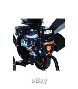 Broyeur de végétaux et branches coupe 76mm moteur thermique 212cc Villager VCPS