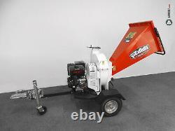 Broyeur de végétaux thermique à disque GIEMME MACHINERY BTD 150 L moteur LONCIN