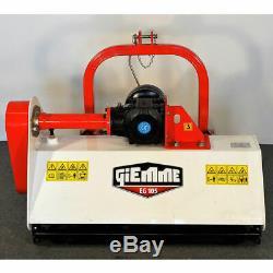 Broyeur fixe à herbe axe horizontal GIEMME EG 105 pour tracteurs de 25 à 35 cv