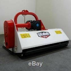 Broyeur fixe à herbe axe horizontal GIEMME EG 125 pour tracteurs de 25 à 35 cv