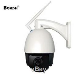 Caméra 3G/4G Zoom 20x -Fonctionne s/box Internet Full HD Vison nuit