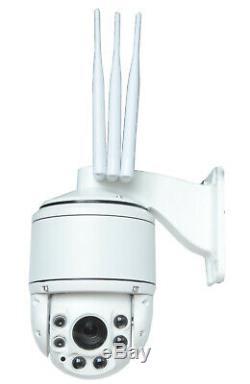 Caméra 4G rotative Zoom 20x -Sans box Internet Idéale surveillance élevage