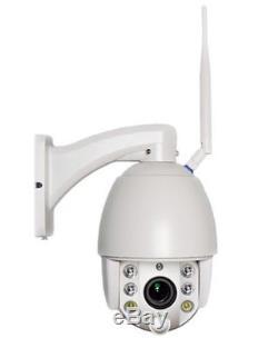 Caméra dôme Zoom 5x Radar IR Wifi -Etanche IP66 Micro intégré Vêlage