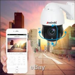 Caméra rotative 360° avec vision IR laser IP66 Zoom 20x