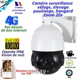 Caméra surveillance à distance pour vêlage, poulinage, poulaillers, élevage
