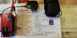 Camescope Numérique SAMSUNG HMX- H300BP, carte mémoire et housse, manuel