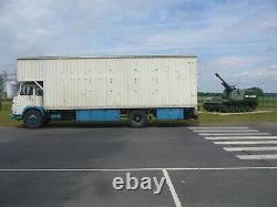 Camion Saviem-Renault SM8 savoyarde caisse déménagement stockage Container 50m3