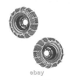 Chaînes Pour Tracteur-Tondeuse 18x6.50-8 16x6.50-8 16x5.70-8 18X8.50-8 16x5.50-8
