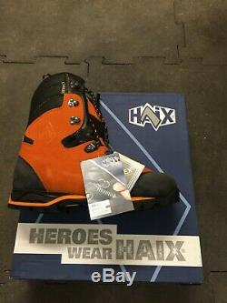 Chaussures anticoupures haix protector forest p43 Neuves