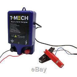 Clôture électrique Générateur 1J Alimenté Par Batterie 12V 10 km Cheval