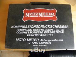 Compressiomètre enregistreur pour moteurs à essence