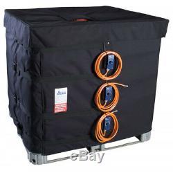 Couverture chauffante pour cuve IBC