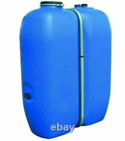 Cuve à eau Schutz Aquablock 1000 litres avec bandage récupération d'eau pluie ou