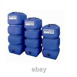 Cuve à eau aérienne SCHUTZ AQUABLOCK 600 LITRES stockage eau potable ou eau de