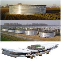 Cuve de Stockage Eau Water Tank 13 m3 Panneau Acier Cintre Galvanise WT13