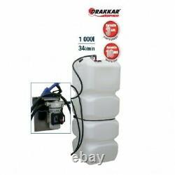 Cuve de stockage PEHD pour Adblue 1000 litres avec pompe et pistolet