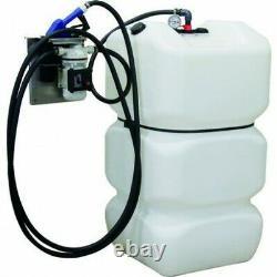Cuve de stockage PEHD pour Adblue simple paroi 600l avec kit station
