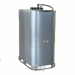 Cuve de stockage galvanisée DP 999 litres pré-équipée