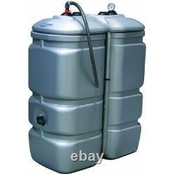 Cuve stockage PEHD DP 750 litres pré-équipée